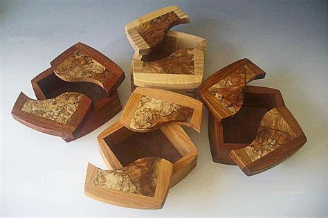Wooden Box Packaging Design