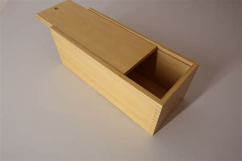 Wooden Box Sliding Lid Plans Synonym