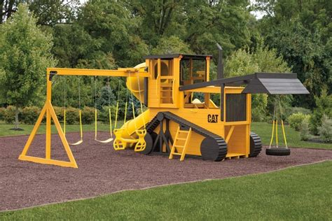 Wooden Bulldozer Playset Plans