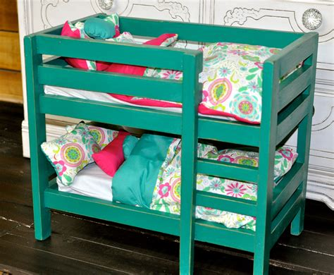 Wooden Bunk Beds For American Girl Dolls