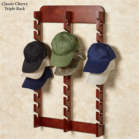 Wooden Cap Rack
