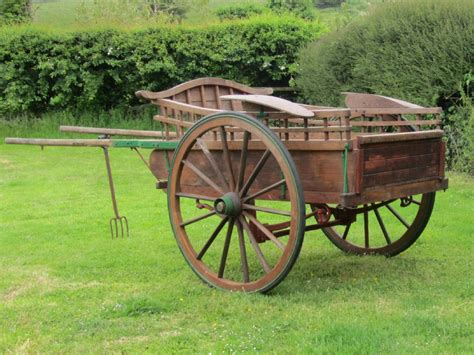 Wooden Carts For Horses