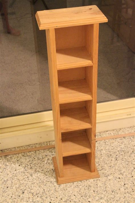 Wooden Cd Storage Shelves