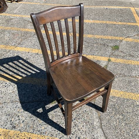 Wooden Chair Used