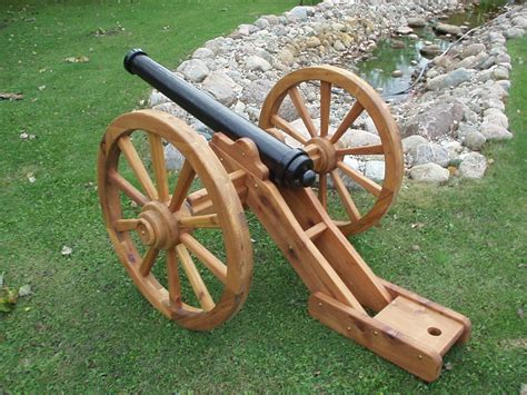 Wooden Civil War Cannon Plans
