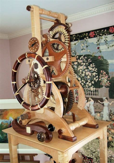Wooden Clock Plans Large
