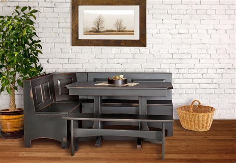 Wooden Corner Kitchen Table And Bench Plans