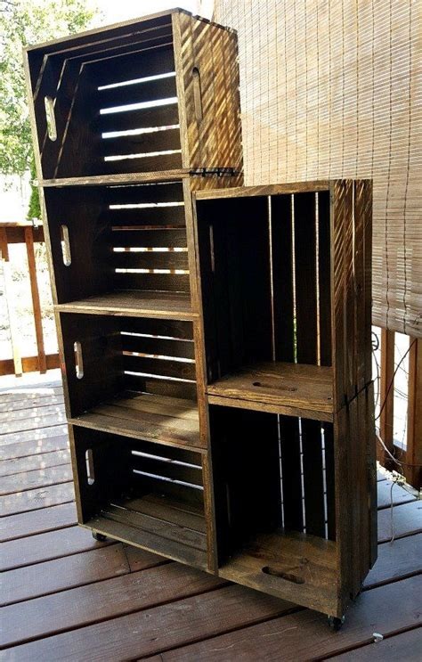 Wooden Crate Shoe Rack Diy Ideas