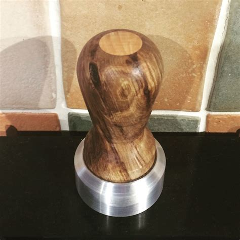 Wooden DIY Coffee Tamper
