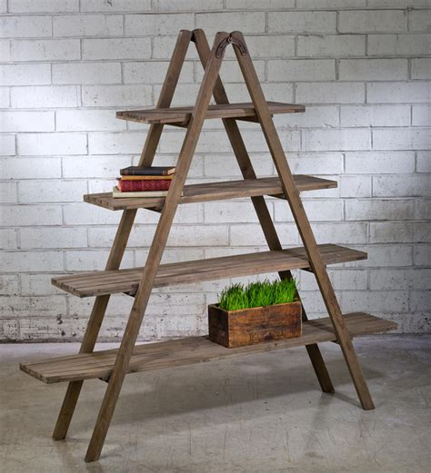 Wooden Display Ladder Plans