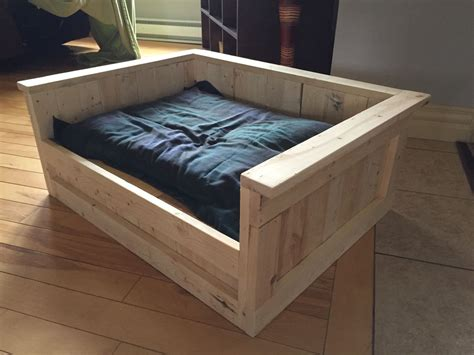 Wooden Dog Bed Frame Diy Hooks