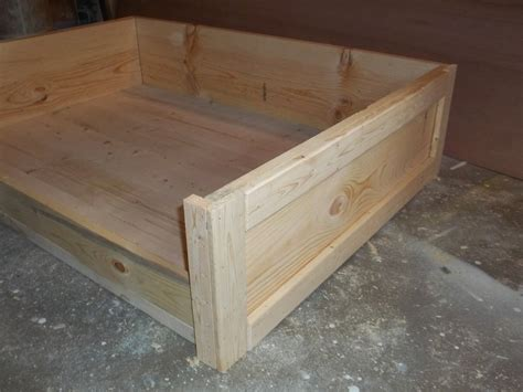Wooden Dog Bed Frame Diy Plans