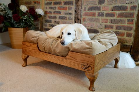 Wooden Dog Diy Bed