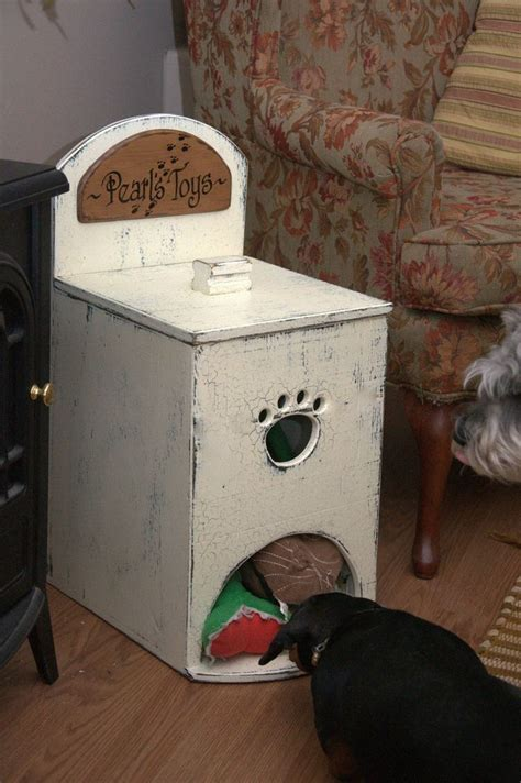 Wooden Dog Toy Box Plans