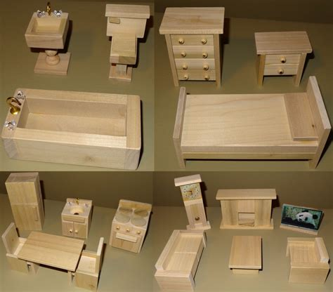 Wooden Doll Furniture Plans