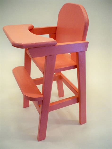 Wooden Doll High Chair Canada