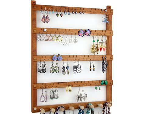 Wooden Earring Rack Plans
