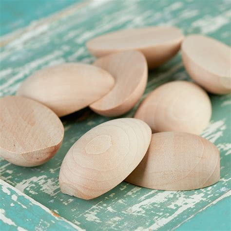 Wooden Eggs Craft Supplies