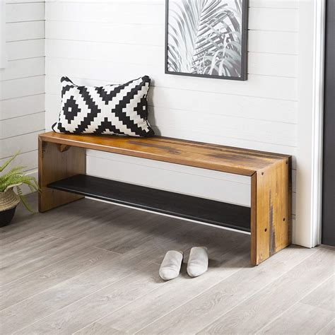 Wooden Entryway Bench Plans