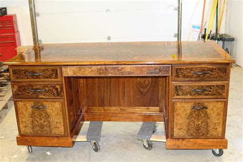 Wooden Executive Desk Plans