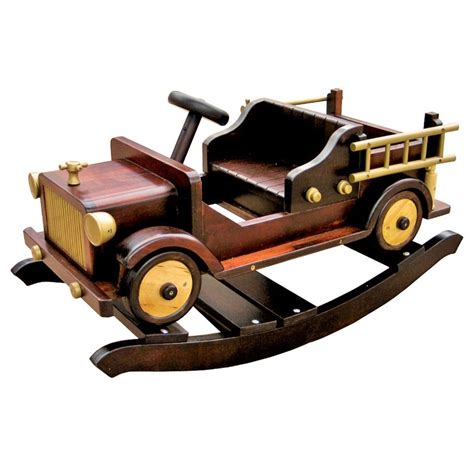Wooden Fire Truck Rocker Plans
