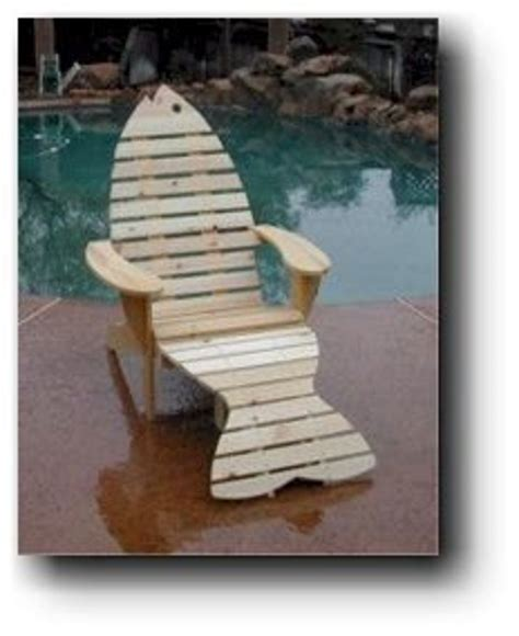 Wooden Fish Chair Plans