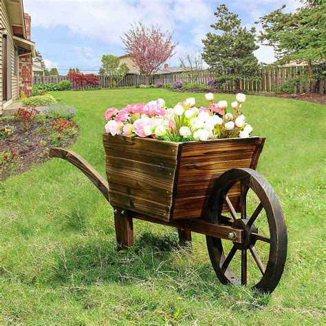 Wooden Flower Cart Plans Home Depot