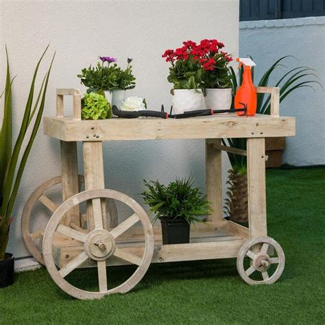 Wooden Flower Cart Plans Lowes
