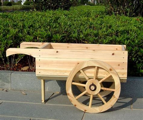 Wooden Flower Cart Plans Woodworking