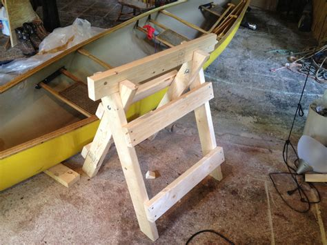 Wooden Foldable Horse Stand Diy