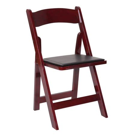 Wooden Folding Chairs With Cushion