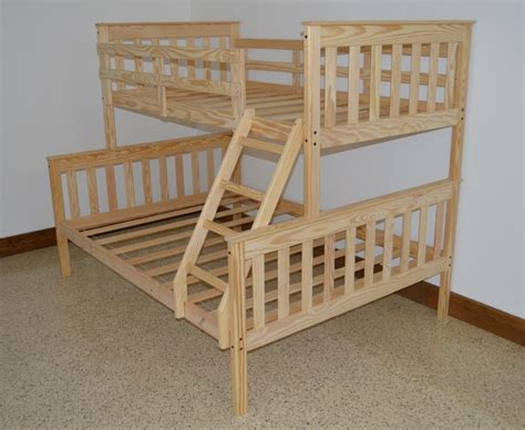 Wooden Full Bed Plans