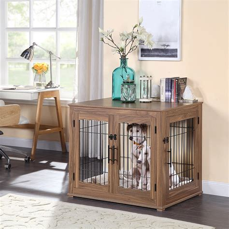 Wooden Furniture Dog Crate Plans