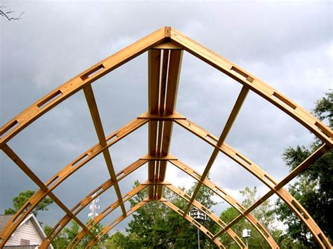 Wooden Gothic Arch Greenhouse Plans