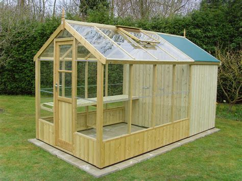 Wooden Greenhouse Design Plans