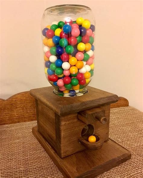 Wooden Gumball Dispenser Plans