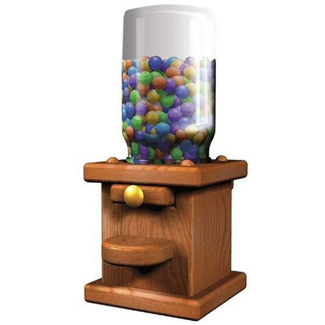 Wooden Gumball Machine Plans Free