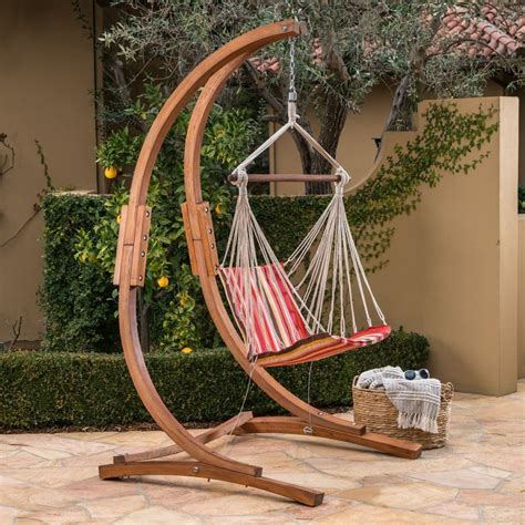 Wooden Hammock Swing Chair
