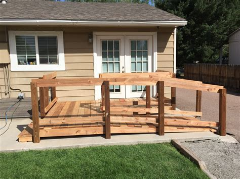Wooden Handicap Bowling Ramp Plans