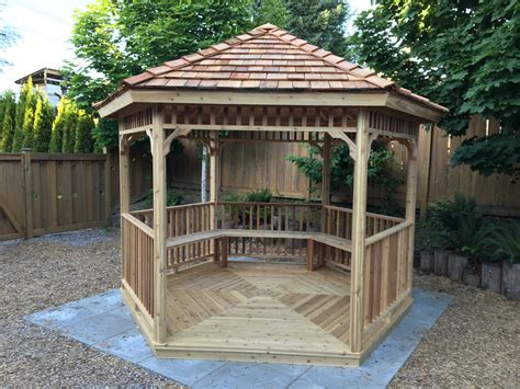 Wooden Hexagonal Gazebo Plans