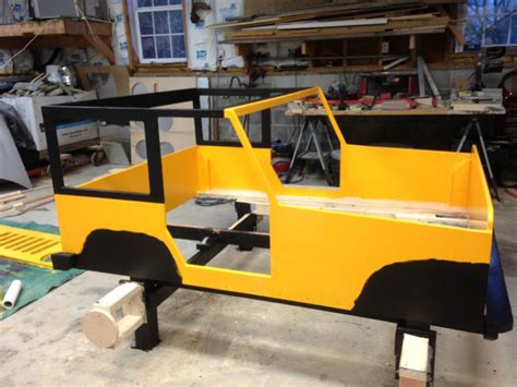 Wooden Jeep Bed Plans