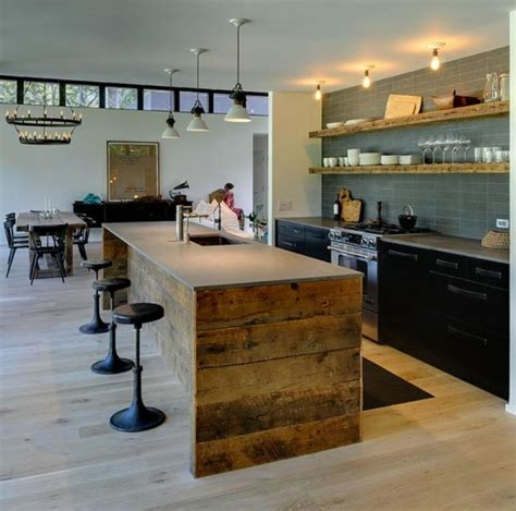 Wooden Kitchen Island Ideas