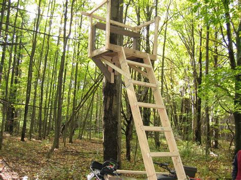 Wooden Ladder Stand Plans Free
