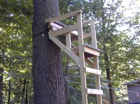 Wooden Ladder Tree Stand Plans