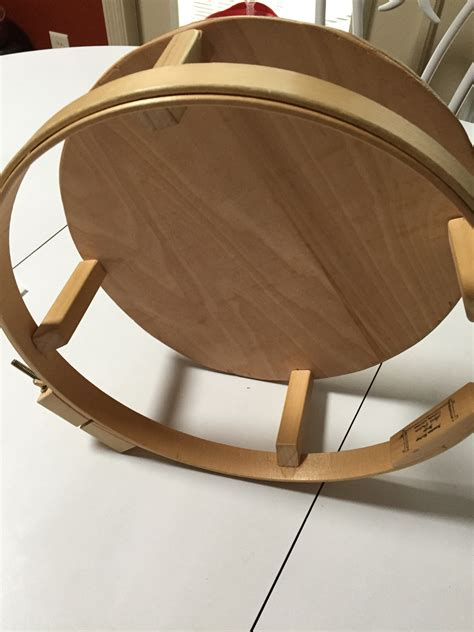Wooden Lap Quilting Hoops