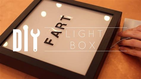 Wooden Light Box Diy Youtube