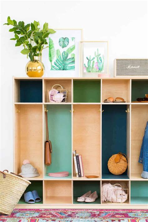 Wooden Locker DIY