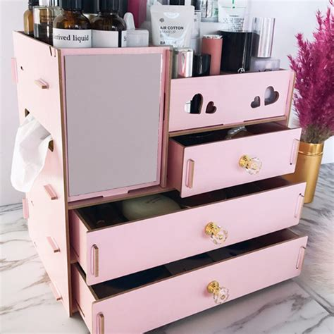 Wooden Makeup Box Diy Chrzest