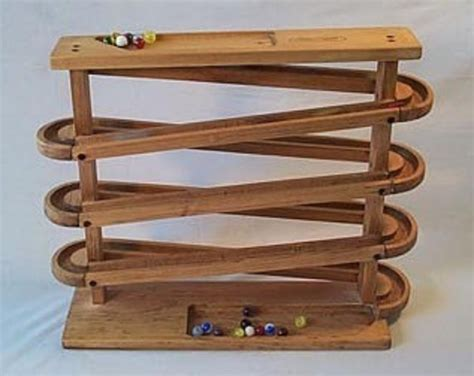 Wooden Marble Race Track Plans
