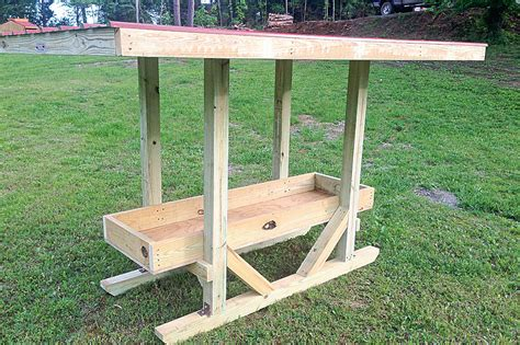 Wooden Mineral Feeder Plans For Cattle